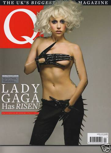 Lady Gaga Q Magazine. Lady GaGa Covers Cosmopolitan